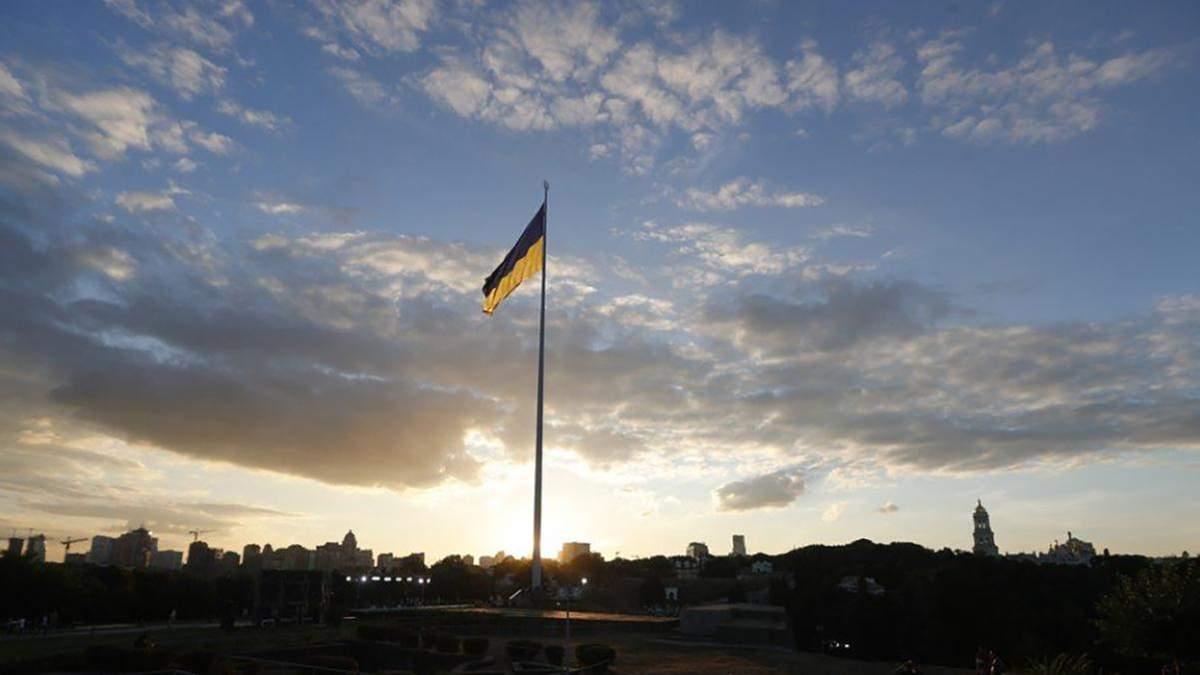 В Киеве самый большой флаг Украины приспустили 7 марта 2021: все, что известно