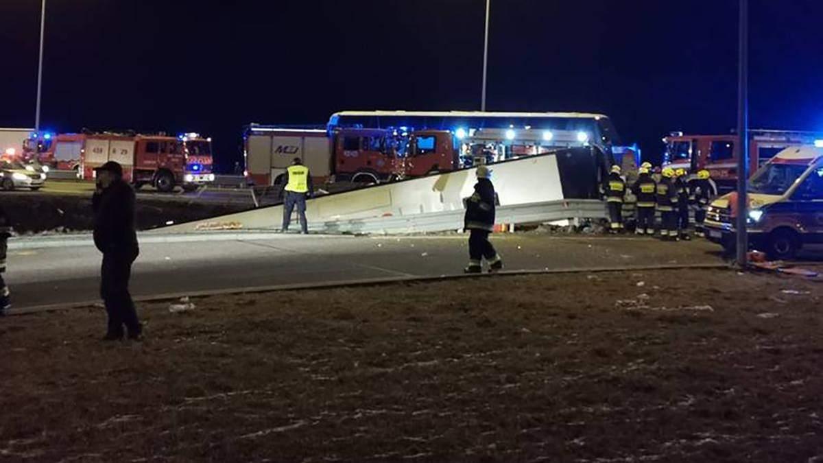 ДТП украинского автобуса в Польше: водителю предъявили обвинение – все детали