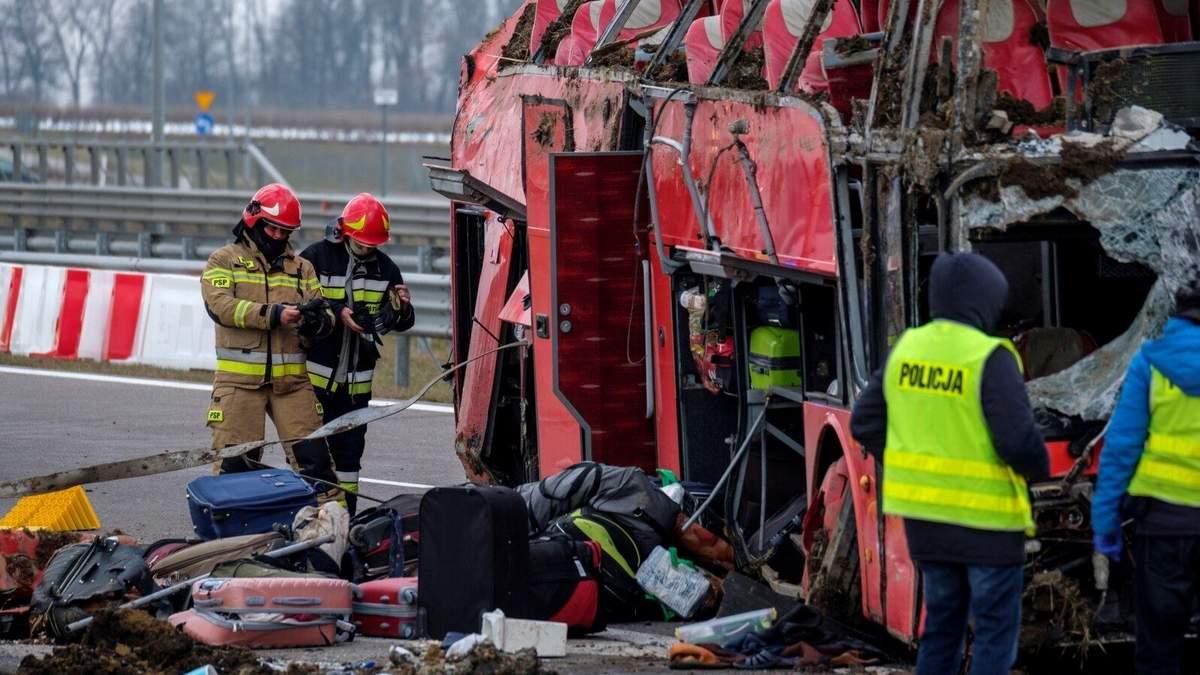 Жертви ДТП біля Кашице у Польщі: рідні опізнали тіла 4 українців