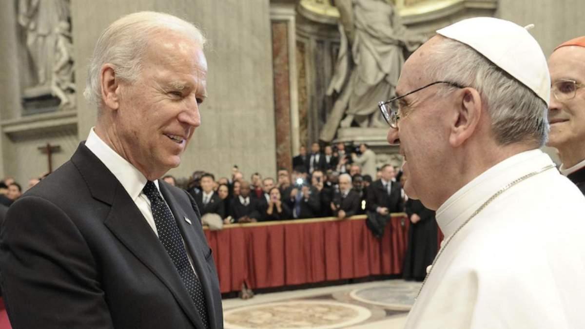 Байден прокоментував візит Папи Римського в Ірак