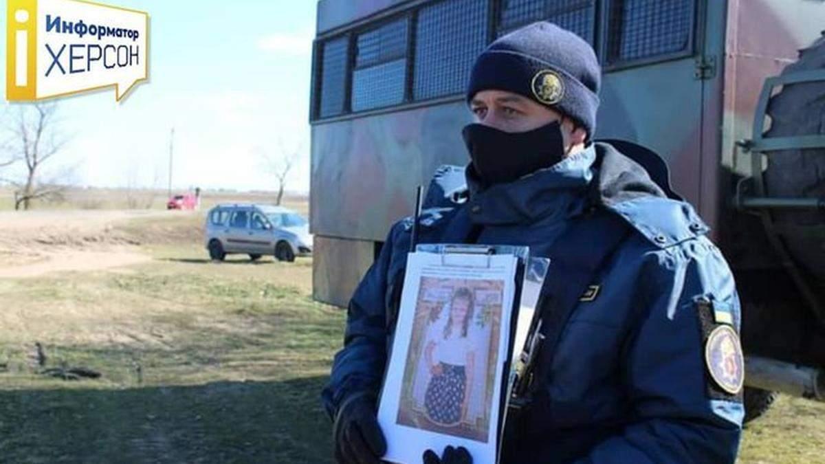 На Херсонщині припинили активні пошуки зниклої 7-річної дівчинки