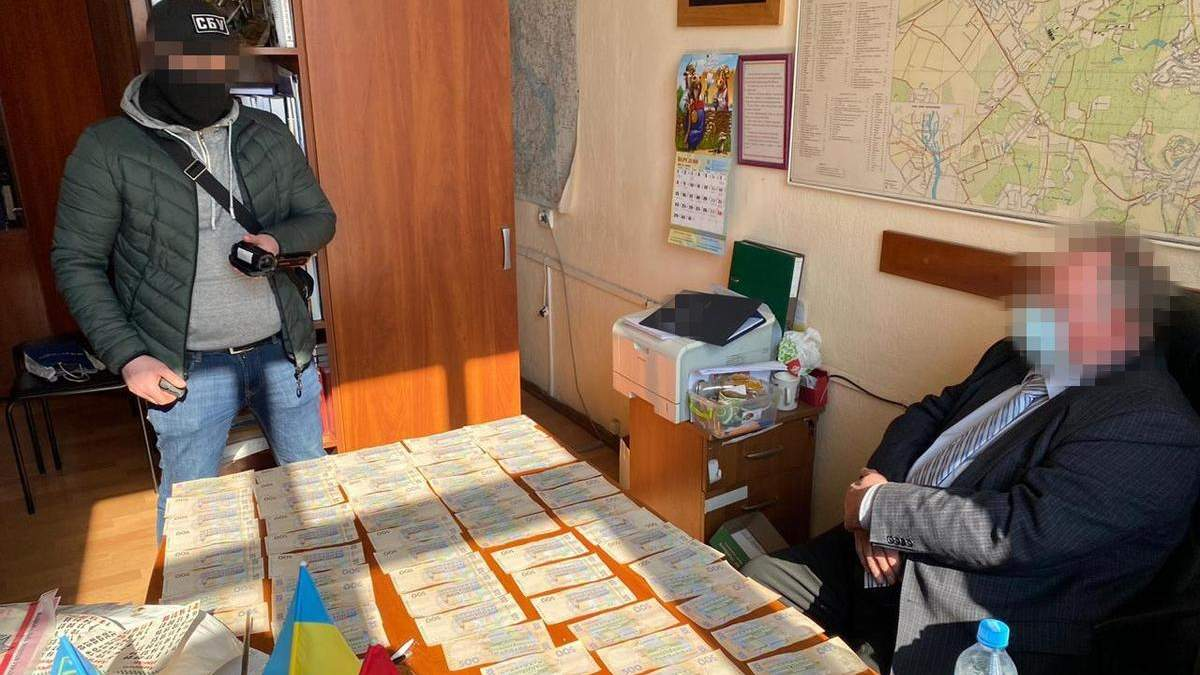 На взятке разоблачили одного из руководителей НАН Украины