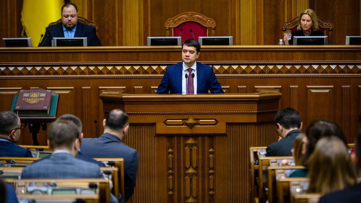 Разумков пояснив, чому не підтримав санкції для каналів Медведчука