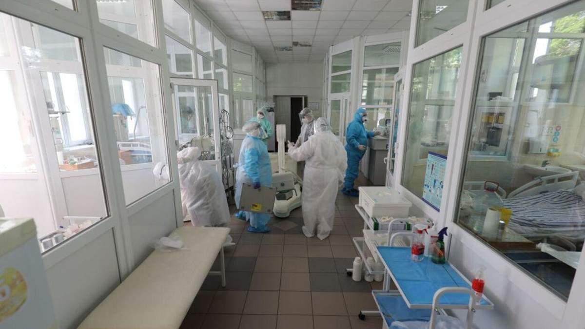 Коронавирус во Львове: сколько новых больных и занятых коек в больницах