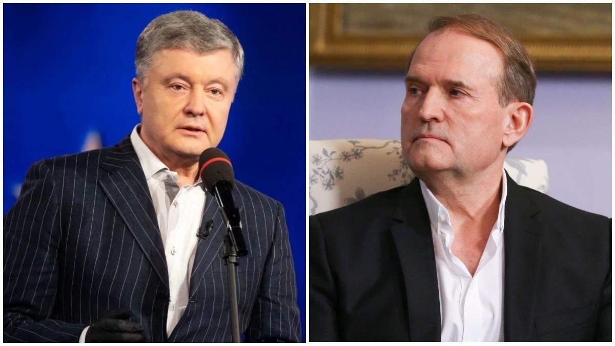 Ганебна змова, – Лещенко про причетність Порошенка до труби Медведчука