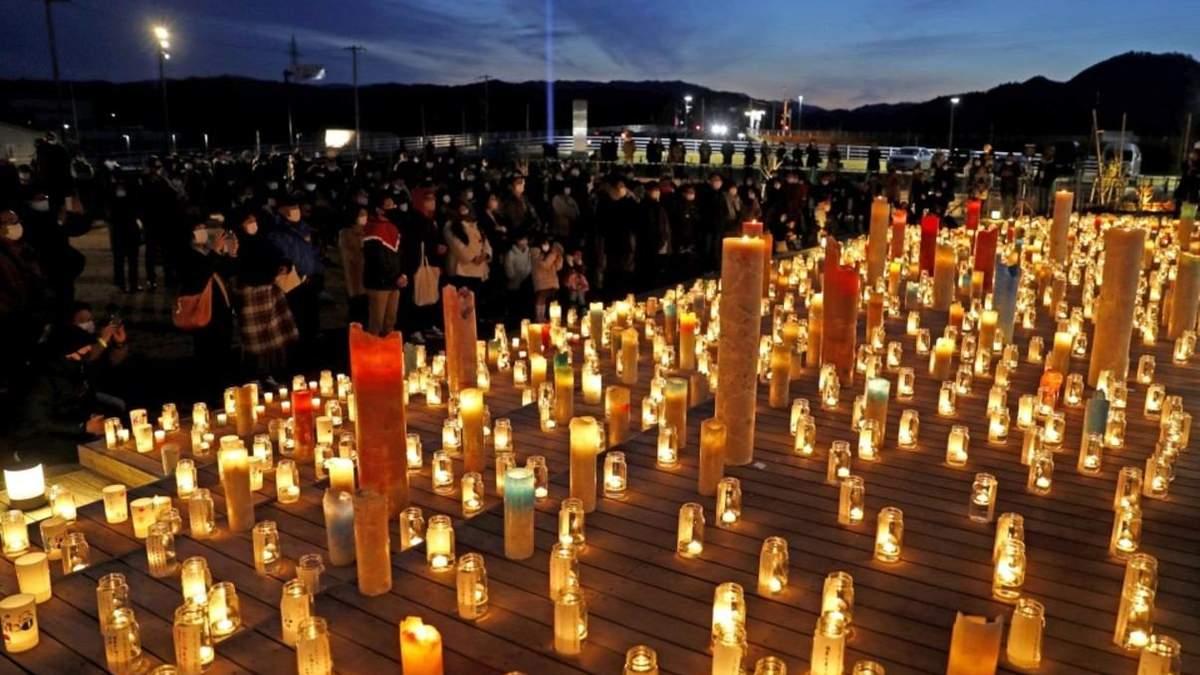 В Японии отмечают годовщину со дня аварии на АЭС Фукусима-1