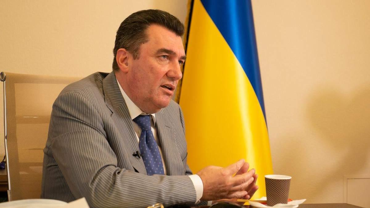 Мотор Сич вернут Украине, - Данилов