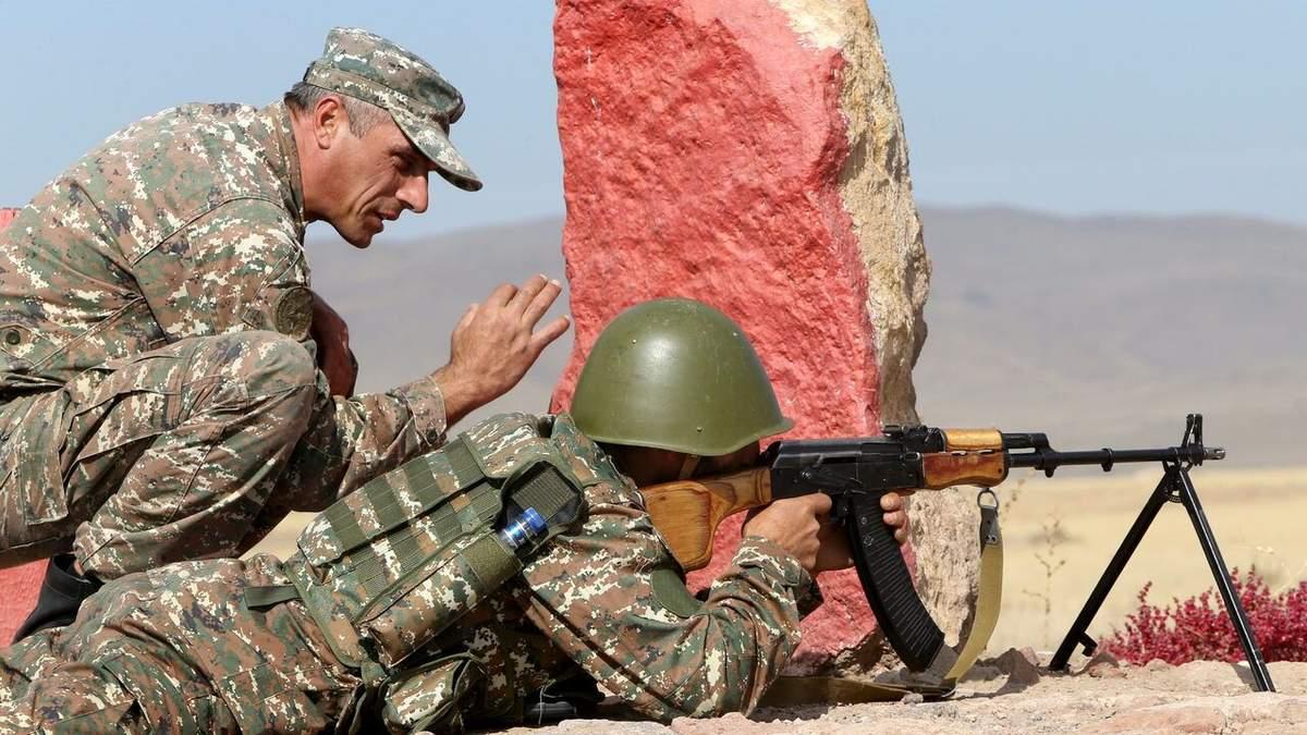 Азербайджан і Вірменія одночасно проведуть військові навчання