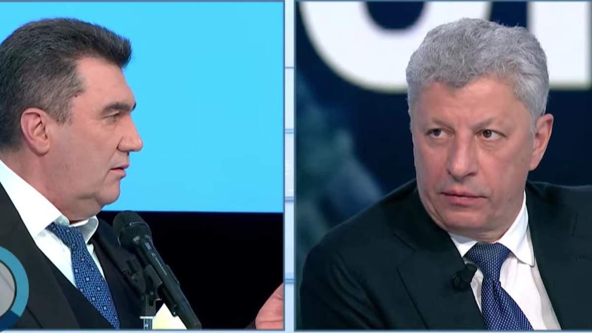Данилов намекнул Бойко о причастности к Харьковским соглашениям