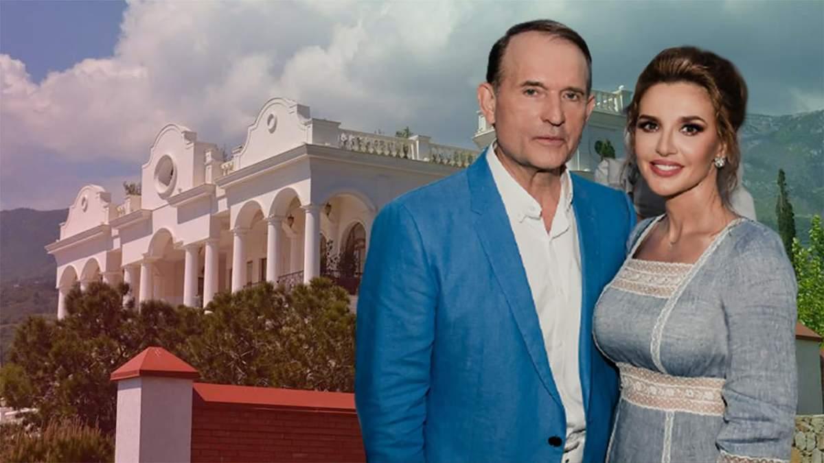 Дворец Медведчука и Марченко: кому досталась дача в Крыму