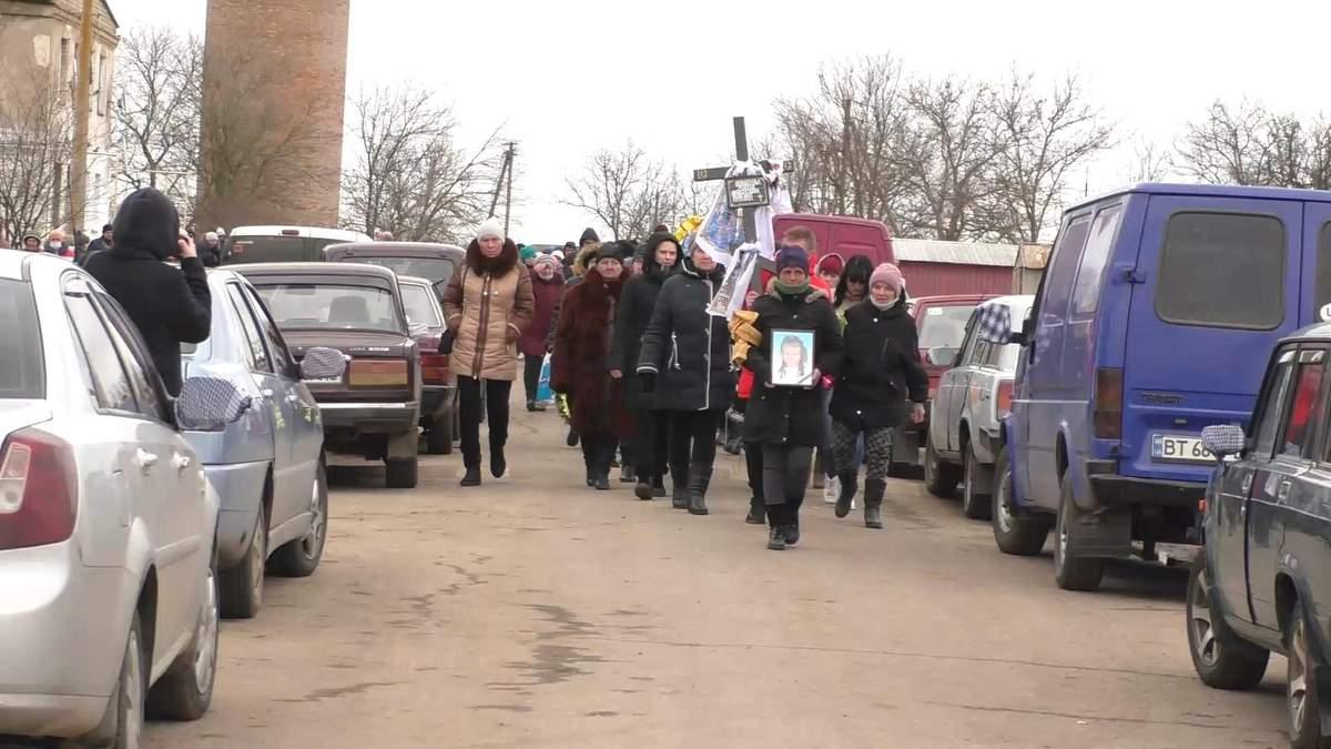 Похорон Марії Борисової: відео, фото 12 березня 2021