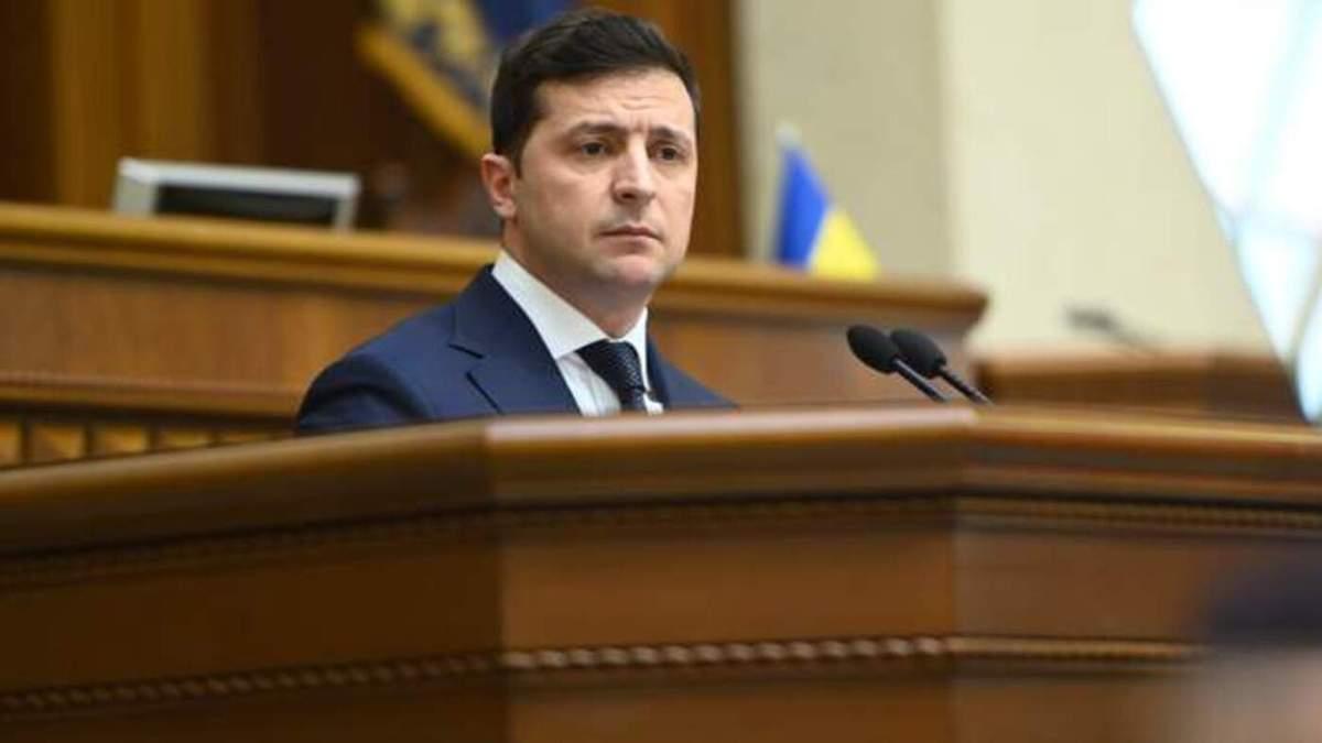 Зеленский отметил украинских добровольцев государственными наградами
