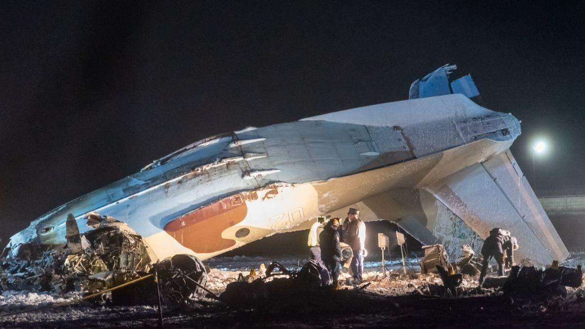 Авиакатастрофа в Казахстане: расшифровывают черные ящики