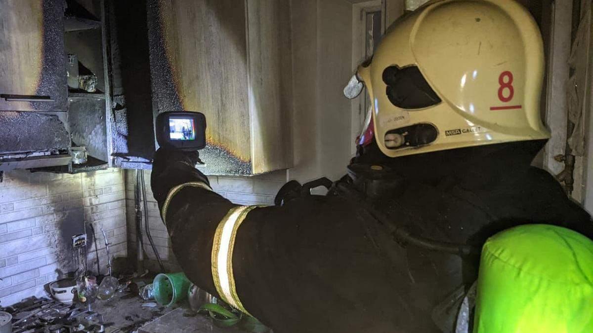 Пожежа на Рівненщині: врятували 16 людей