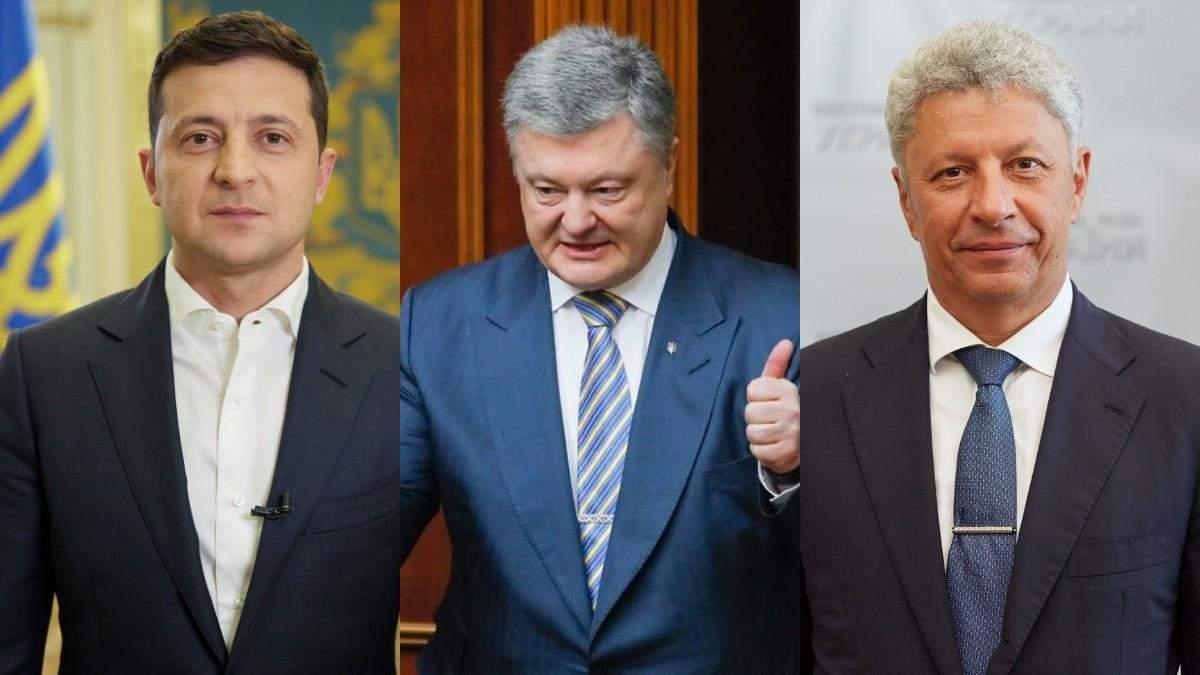 Каким политикам больше всего доверяют украинцы