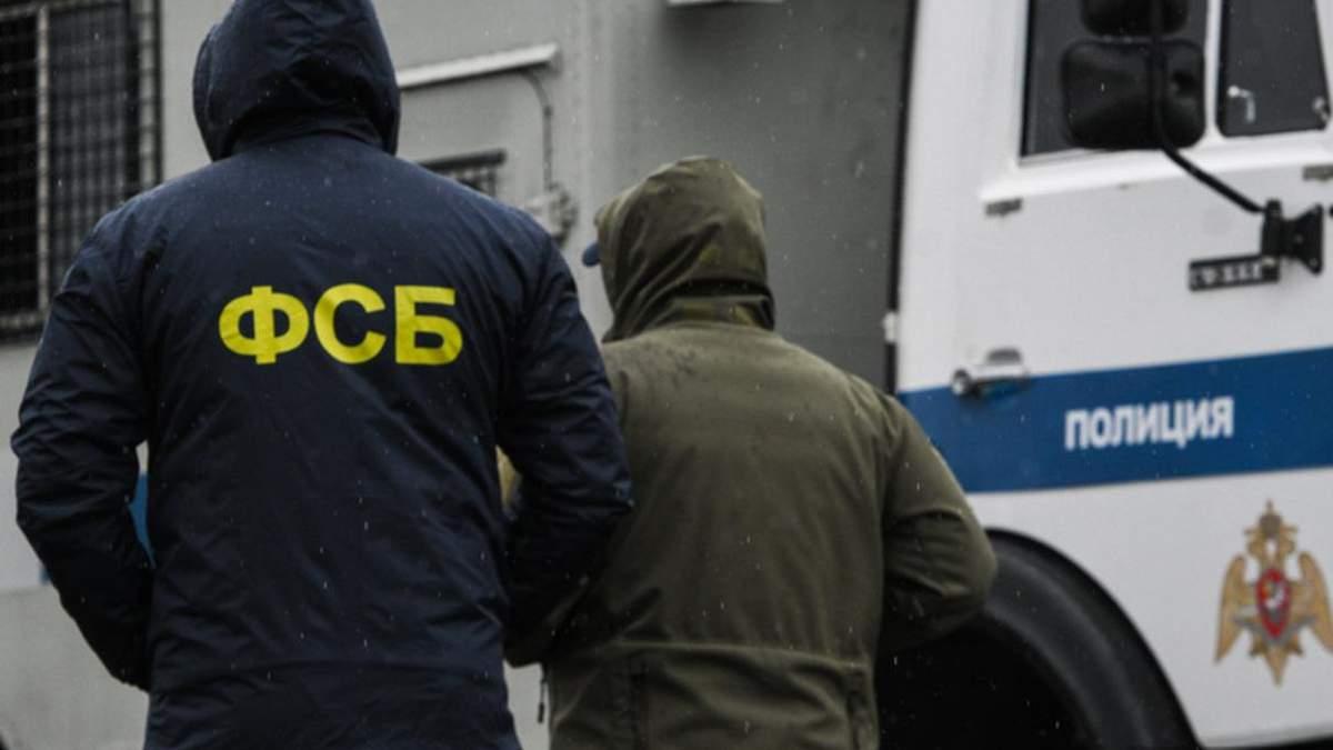 В окупованому Криму впіймали начебто українського шпигуна