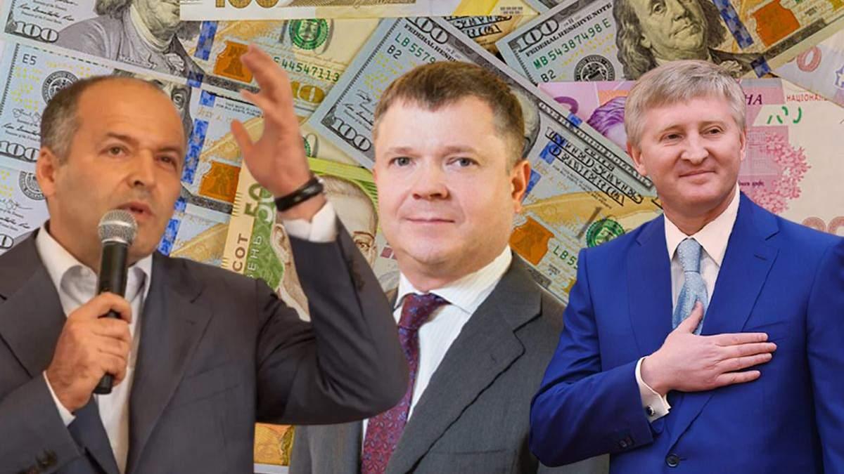 Кто из олигархов в рейтинге самых богатых украинцов