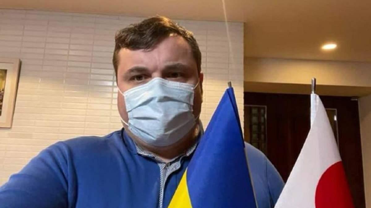 Гендиректор Укроборонпрома Гусев в Японии заболел COVID-19