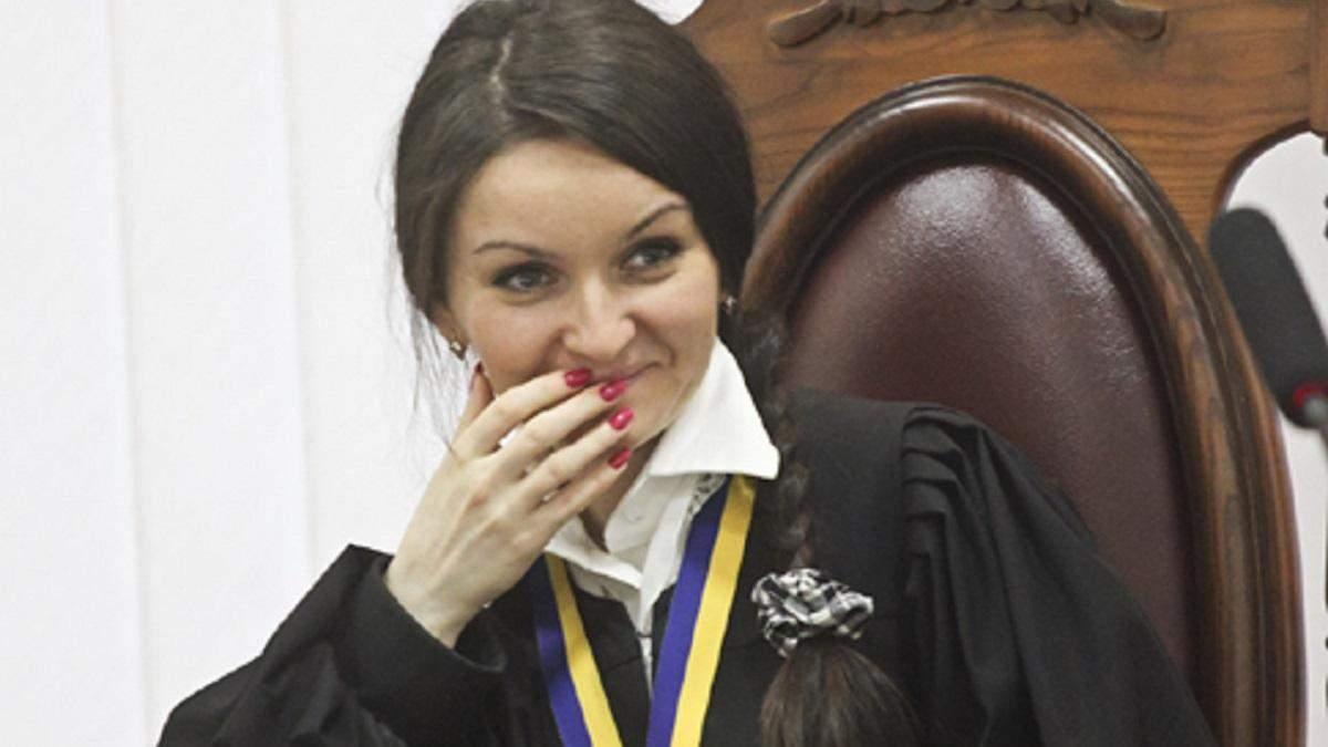 У Верховному суді скасували указ про звільнення одіозної судді