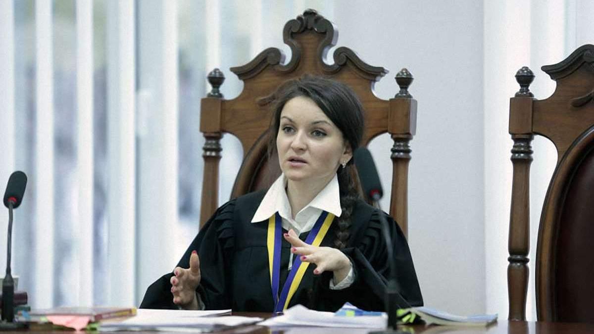 Суддю Царевич поновили на посаді - чим вона відома - Новини