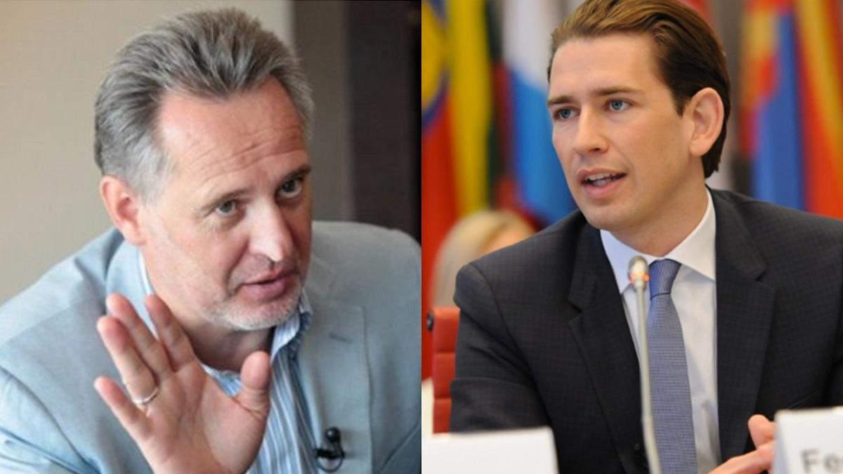 Канцлер Австрии Курц пользуется самолетом олигарха Фирташа