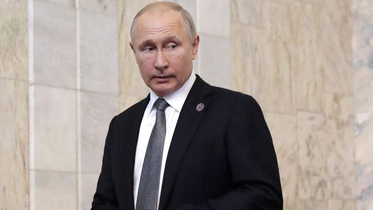 Путін каже, що розбереться з проблемою з водою в окупованому Криму