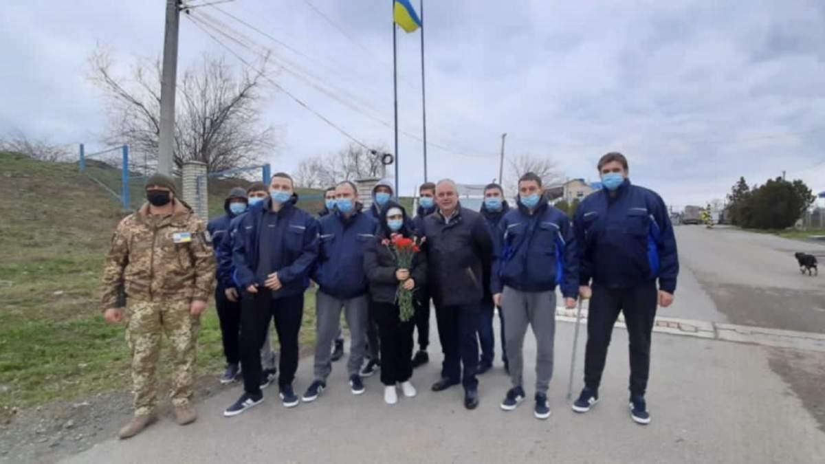 Моряки с затонувшего судна Волго Балт 179 вернулись в Украину