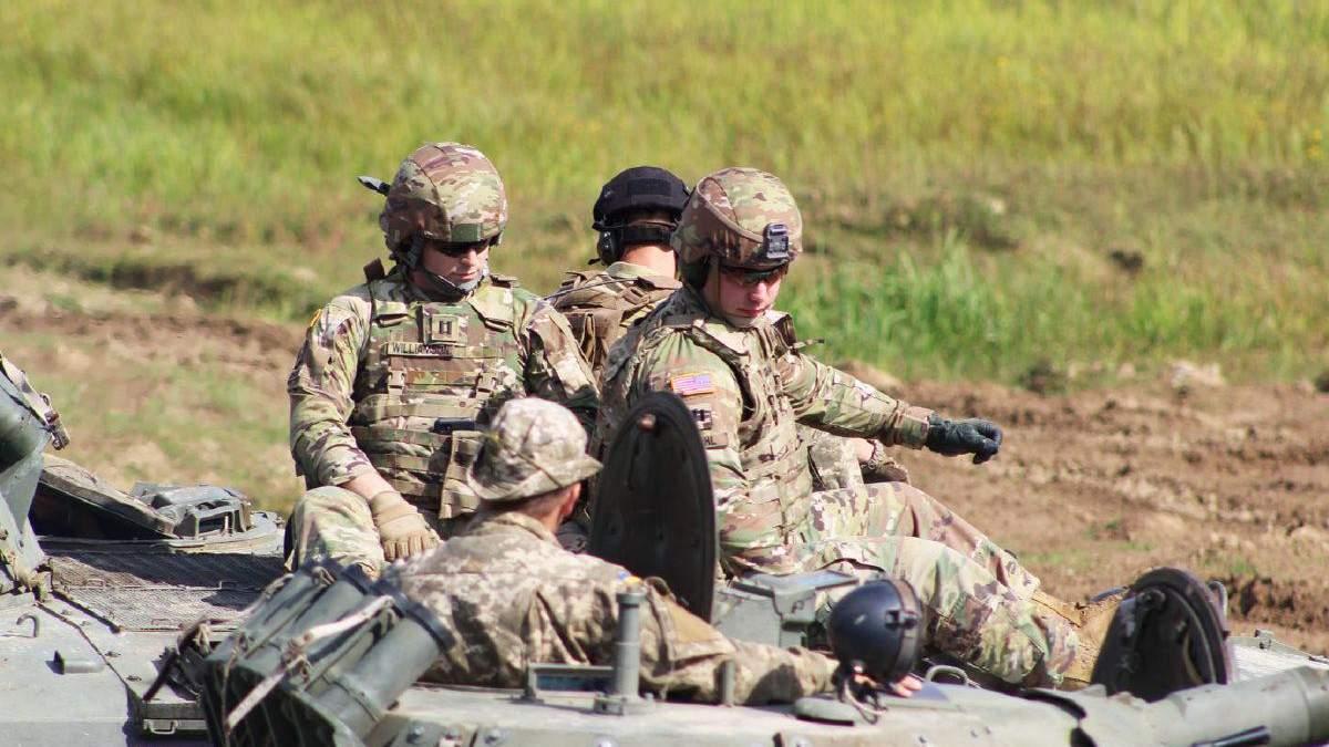 Украинские сухопутные войска обмениваются опытом с Альянсом