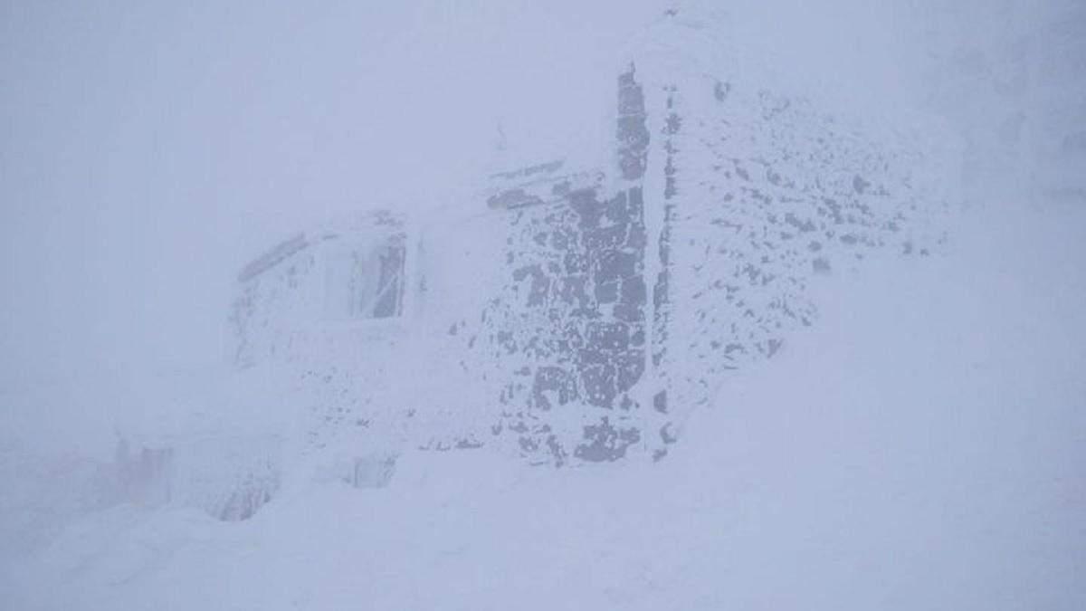 У Карпатах 19 березня загроза лавин, а на горі Піп Іван сніг і мороз