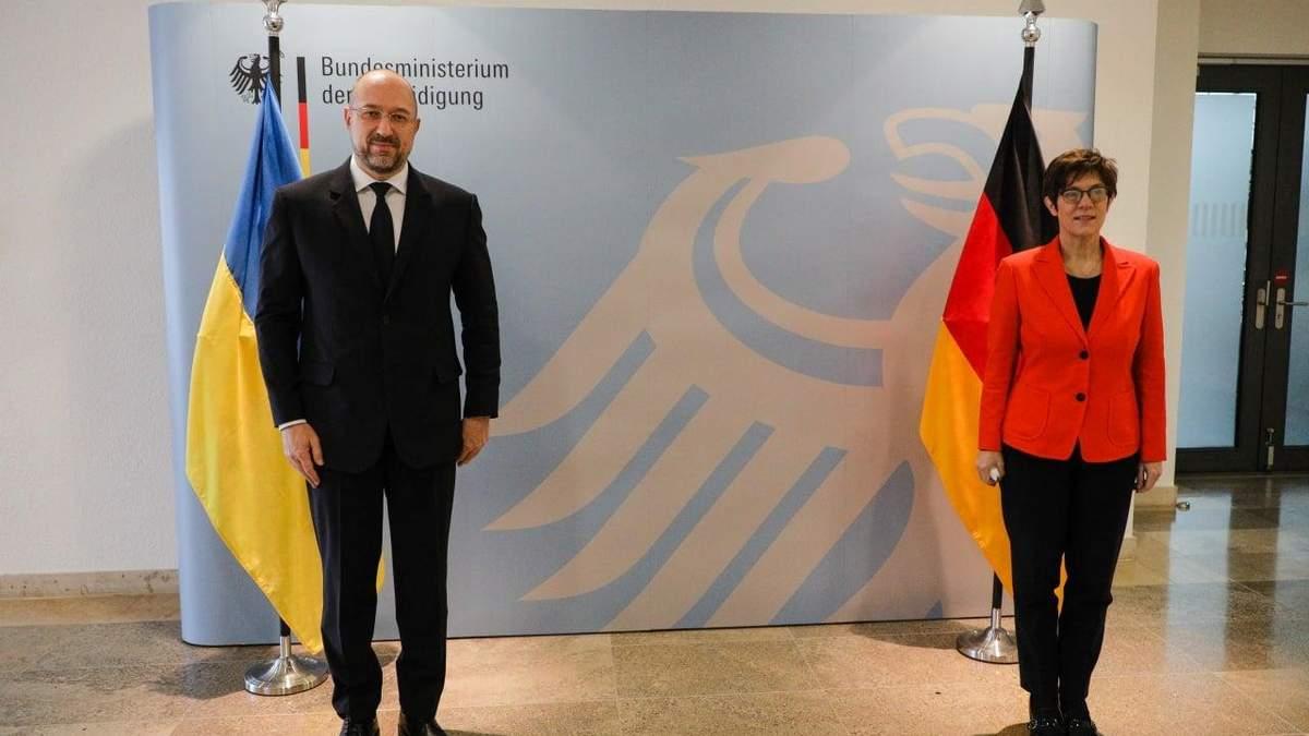 Шмигаль про санкції на Північний потік-2 і Німеччину