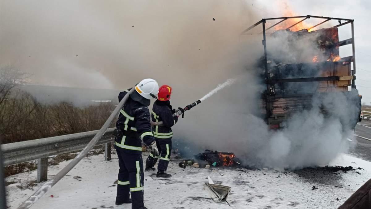 ДТП у Хмельницькій області Волочиському районі 18 березня 2021: фото