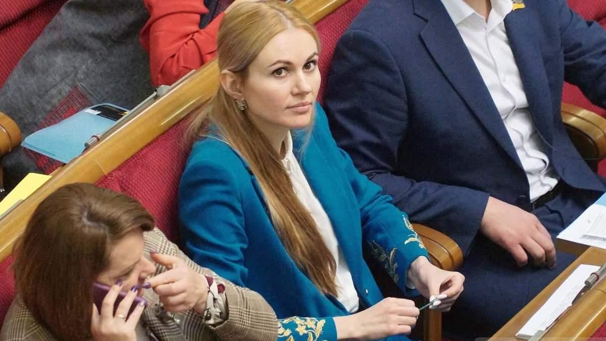 Нардепка Анна Скороход вже втретє хвора на COVID-19: відео