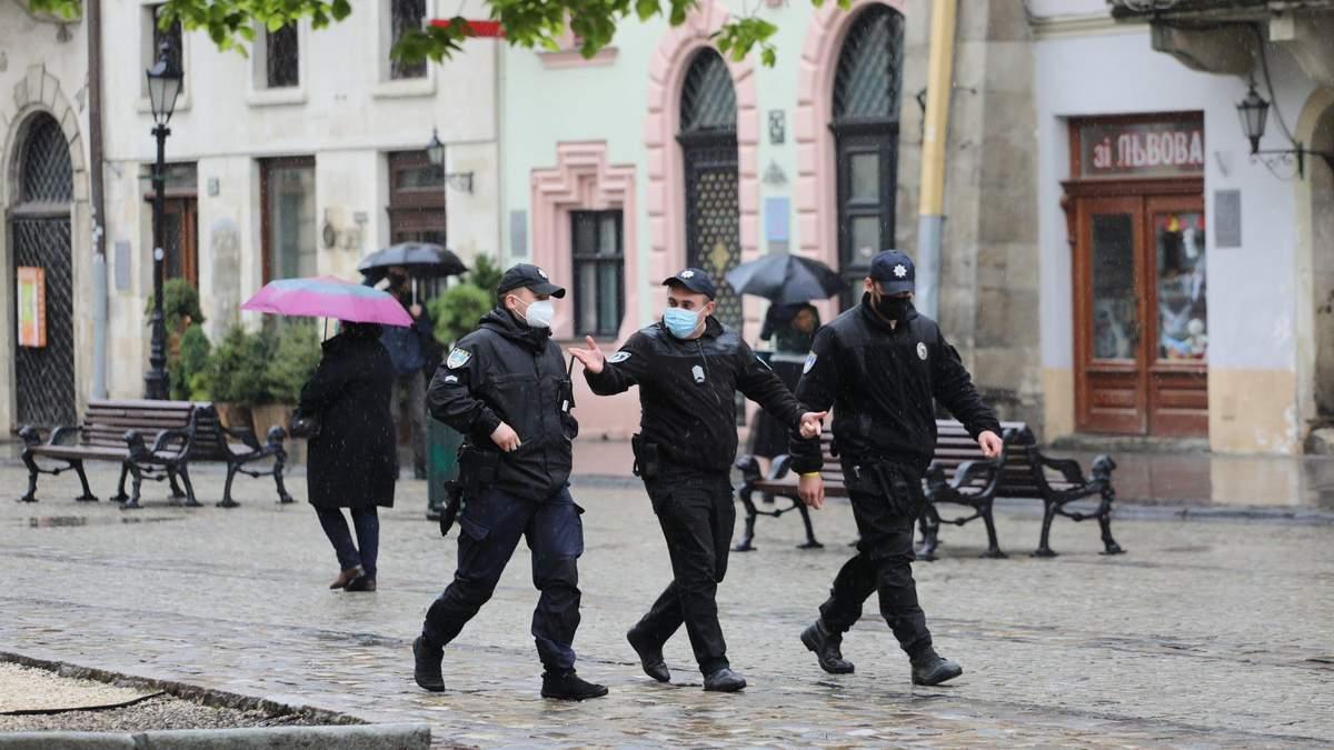 Локдаун во Львове: рейдовые группы проверяют соблюдение карантина