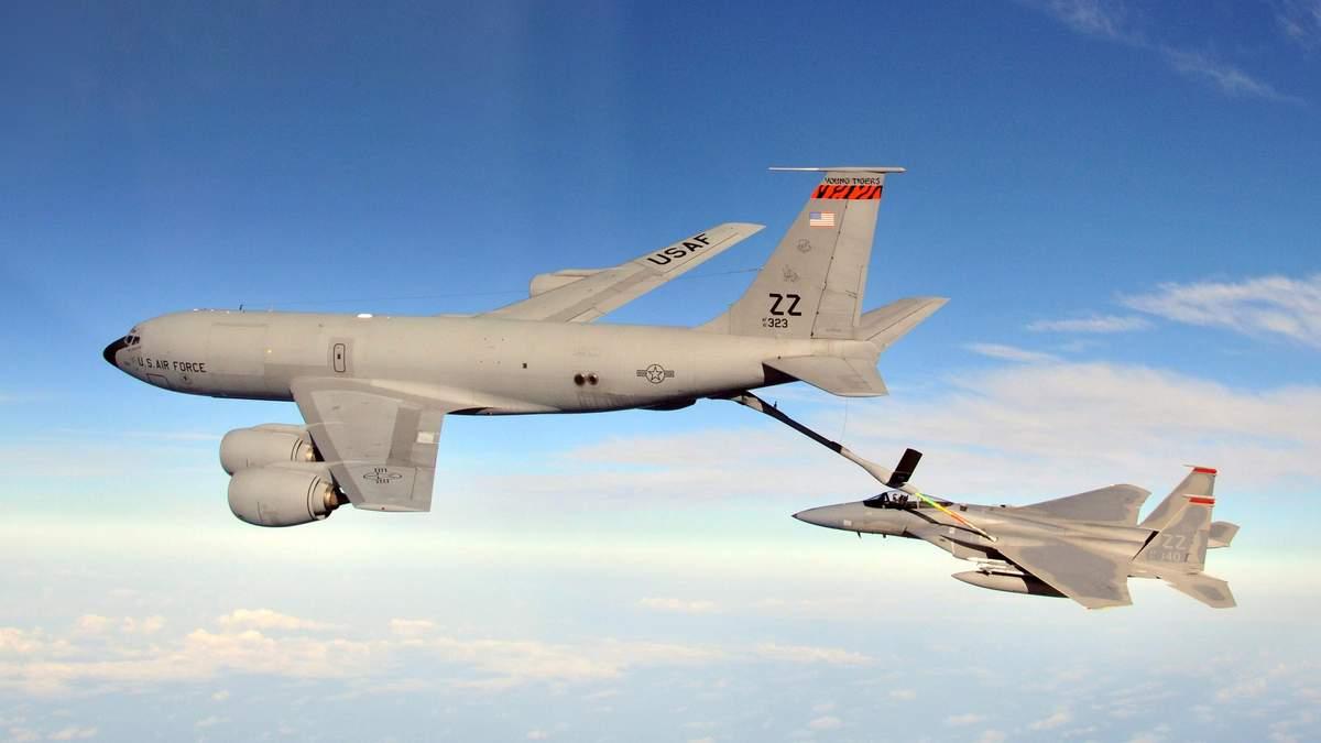 Три заправники США над чорним морем: військові навчання НАТО: деталі
