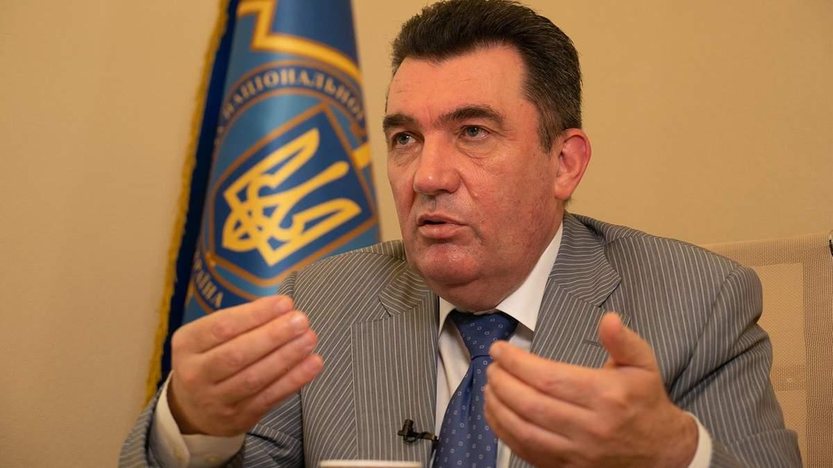 Данилов просит избегать понятия Донбасс