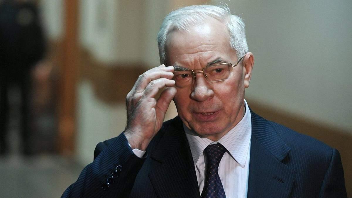 Азарову повідомили підозру у держзраді через Харківські угоди