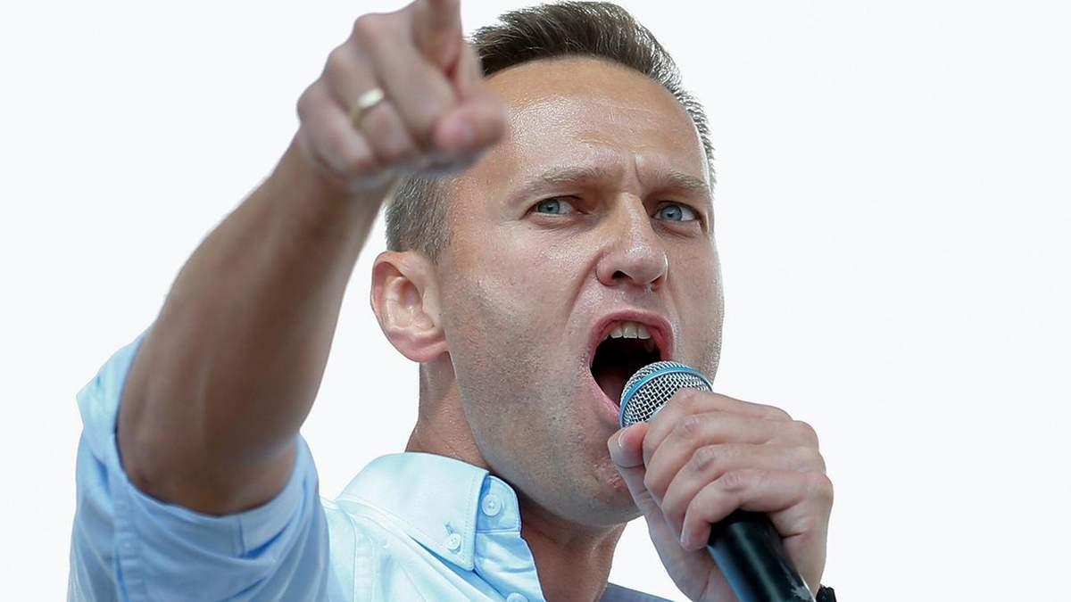 У штабі Навального відмовились змінити мапу з російським Кримом