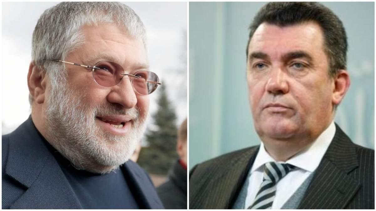 Чому РНБО не реагує на санкції США проти Коломойського