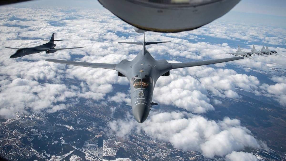 Унікальна повітряна місія НАТО: винищувачі охороняють небо союзників