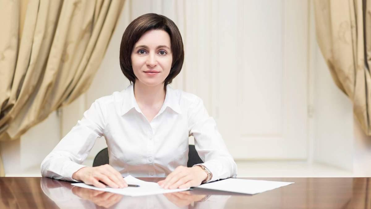 Майя Санду готується розпустити парламент Молдови