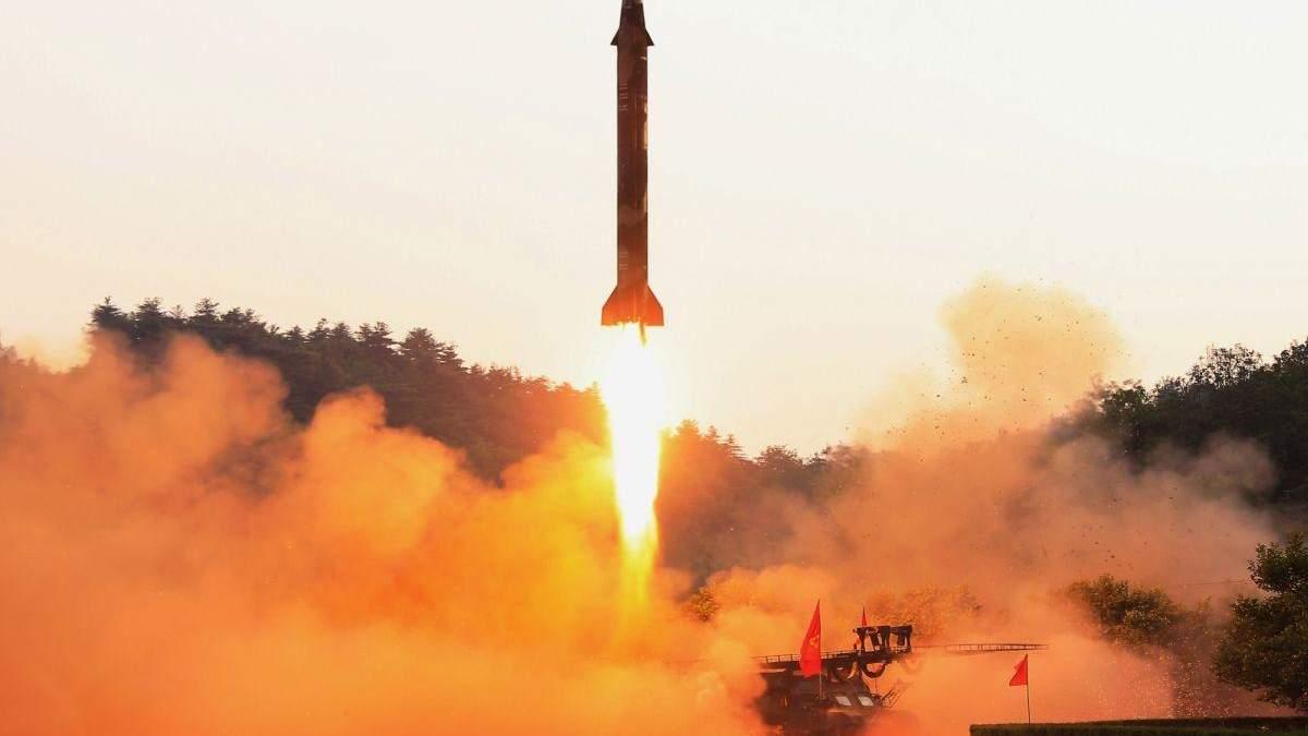 КНДР 25 марта запустила две баллистические ракеты: Япония обеспокоена