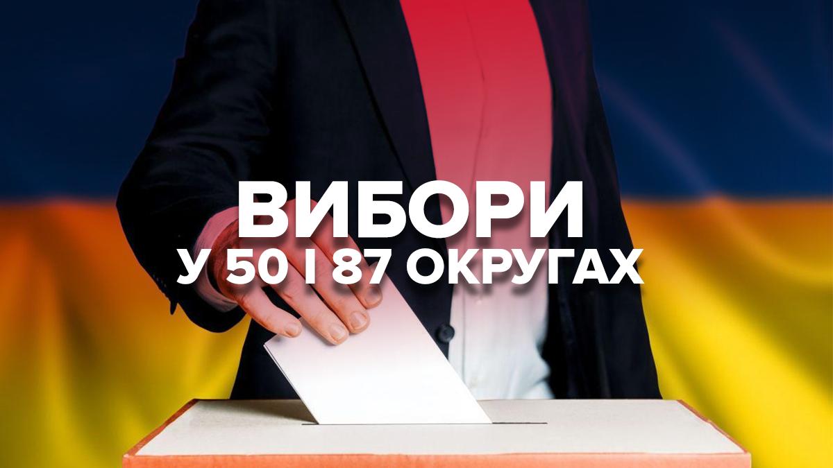 В Україні пройшли проміжні вибори на Прикарпатті та Донеччині