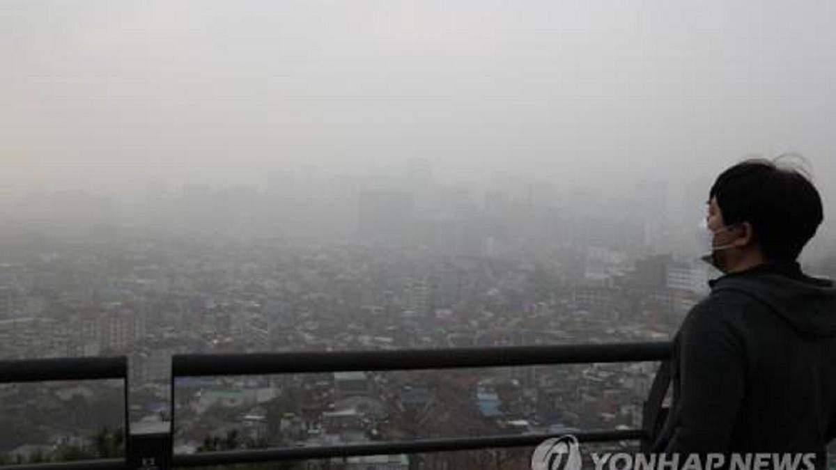 Японію та Південну Корею охопила потужна піщана буря: фото