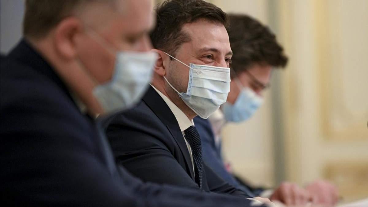 В Зеленского заговорили о паспортах вакцинации итоги совещания