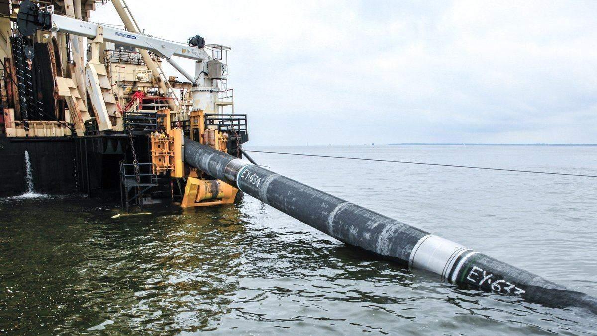 Россия пытается обойти санкции против Северного потока-2