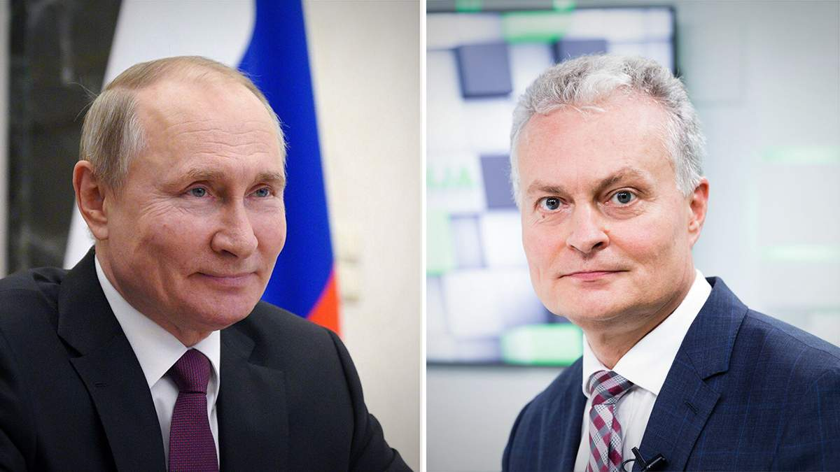 Президент Литви Наусєда також вважає Путіна вбивцею