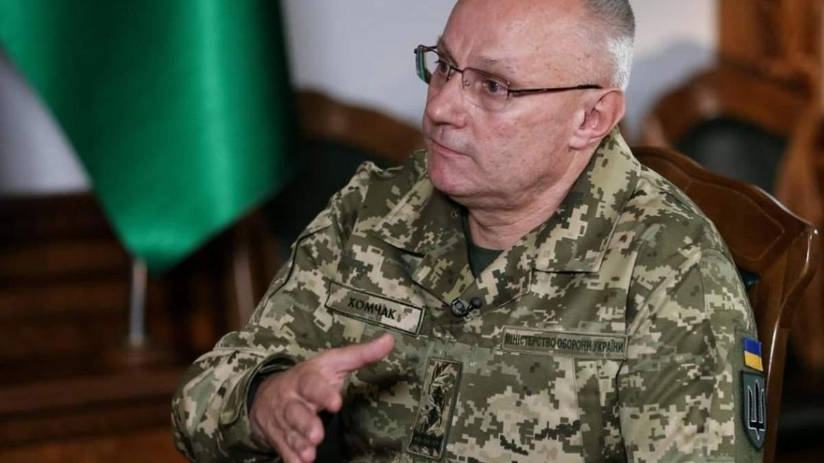 Хомчак відзвітував про загострення на Донбасі у Верховній Раді