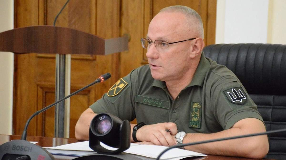 Россия стягивает армию к границе с Украиной, – Хомчак