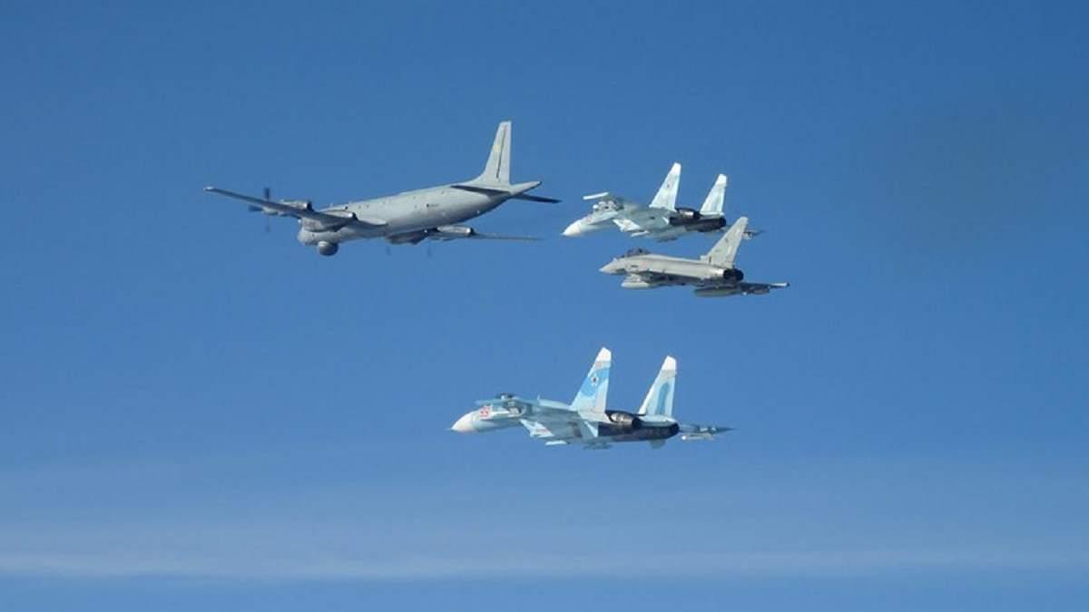 Літаки НАТО за день 10 разів підіймалися для перехоплення літаків РФ