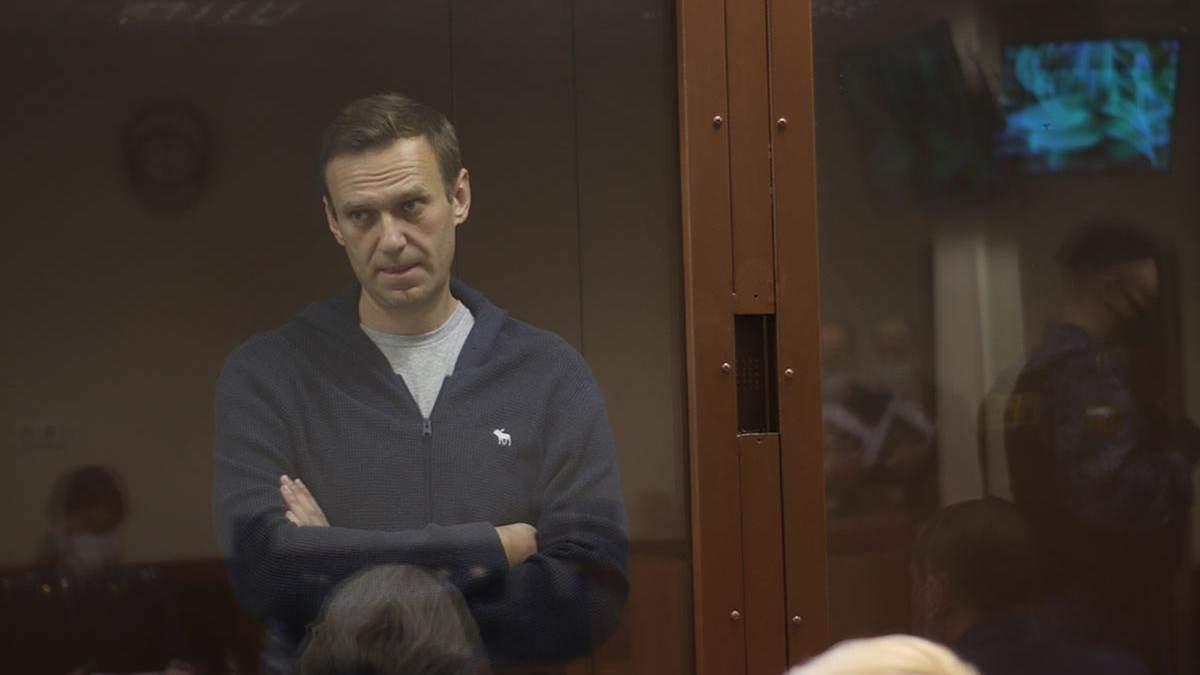 Алексей Навальный 31 марта 2021 объявил голодовку